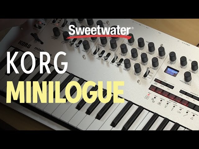 Korg minilogue Demo by Sweetwater Sound