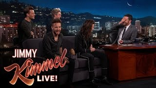 Gambar cover Jimmy Kimmel's Family is Obsessed with One Direction