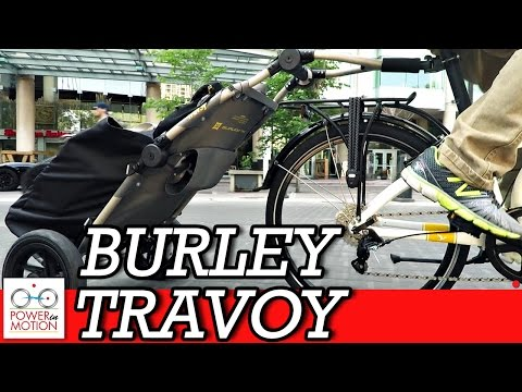 Burley Travoy Trailer | Calgary Cycle Track |  Folding Bike Calgary