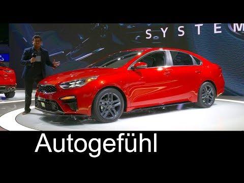 All-new Kia Forte REVIEW 3rd generation 2019 compact sedan - NAIAS 2018 - Autogefühl
