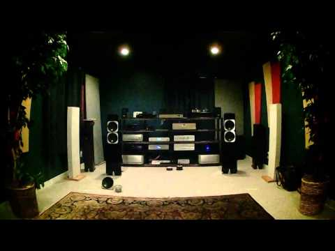Totem Acoustic Element Metal Speakers Demo with Vince Bruzzese [HQ Binaural Recording]