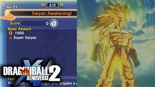 Dragon Ball Xenoverse 2: Super Saiyan 1-3 Transformations