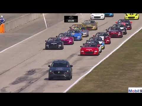 IMSA セブリング MAZDA MX-5カップ レース1の動画