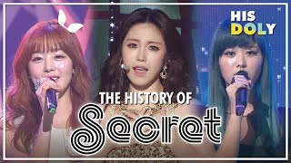 SECRET Special ★Since 'l want you back' to 'I'm in Love'★ (1시간 24m Stage Compilation)