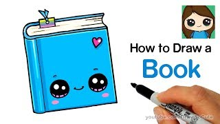 How to Draw a Book Easy   Cute Back to School Supplies