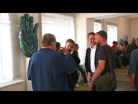 У Луцьку відкрили виставку Вроцлавських художників - YouTube
