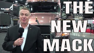 The new 2019 mack anthem OTR tractor