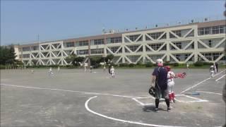 ジュニア 練習試合 対 芋窪アトラス