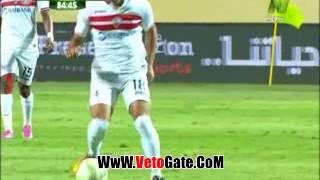 """""""مصطفى فتحى"""" يتقدم بالهدف الثالث لـ الزمالك فى طلائع الجيش"""