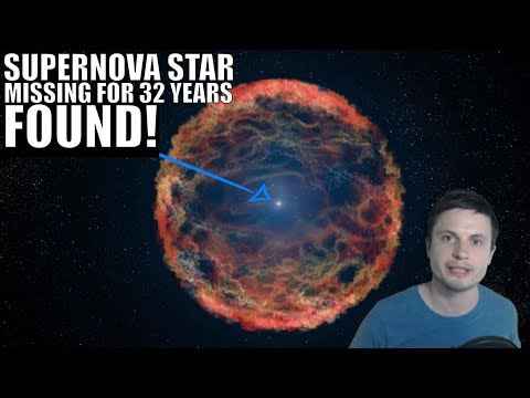 Long Missing Remnant Star of 1987 Supernova Just Found!
