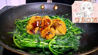 mqdefault - REAL LIFE ANIME FOOD RECIPES (Sea Urchin Watercress) ワカコ酒 wakako zake