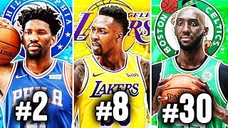 RANKING THE BEST CENTER FROM EACH NBA TEAM