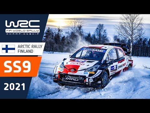 WRC 2021 第2戦のラリーフィンランド SS9のハイライト動画