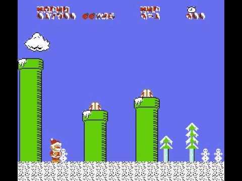 Super Mario Christmas (прохождение)