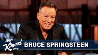 Jimmy Kimmel's FULL INTERVIEW with Bruce Springsteen