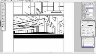Perspective Rulers in Manga Studio - Scribbles with Jonathan