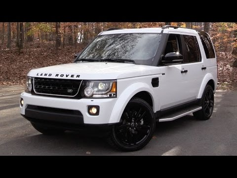 2016 Land Rover LR4 HSE Lux (Discovery) Start Up, Road Test, and In Depth Review