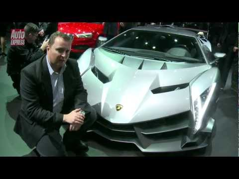 Lamborghini Veneno at the 2013 Geneva Motor Show - Auto Express