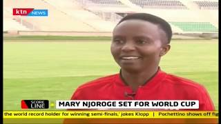 Mary Njoroge, first Kenyan female referee to officiate in the coming World Cup | #KTNScoreline