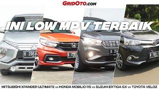 Komparasi 4 Mobil Low MPV, Xpander Vs Veloz Vs Ertiga Vs Mobilio!