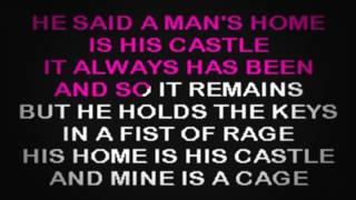 SC2040 08   Hill, Faith   Man's Home Is His Castle, A [karaoke]