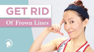 3 Simple Tricks To Get Rid Of Frown Lines http://faceyogamethod.com/ - Face Yoga Method