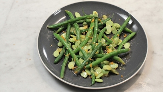 Edamame And Green Beans With Orange And Ginger | Low-Calorie Meals