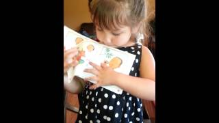4 year old learning to read