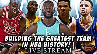 BUILDING THE GREATEST TEAM IN NBA HISTORY! NBA 2K19 MY LEAGUE