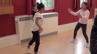 Acton over 8s Street Dance - Freestyle development concept