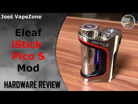 YouTube Video zu Eleaf iStick Pico S 21700 Akkuträger 100 Watt