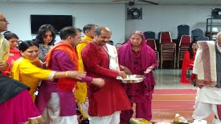 Lohri celebrations at Dallas/FortWorth Hindu Temple on Monday,January 13, 2020.