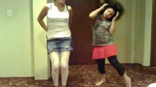 Stunned out Paula Deanda (funny times with my lil sis)