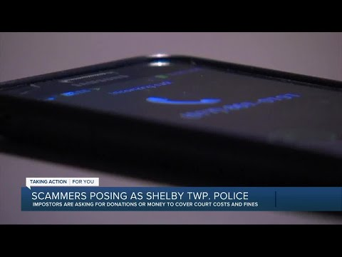 Shelby Township police warn of scammers impersonating officers, spoofing calls to appear legit