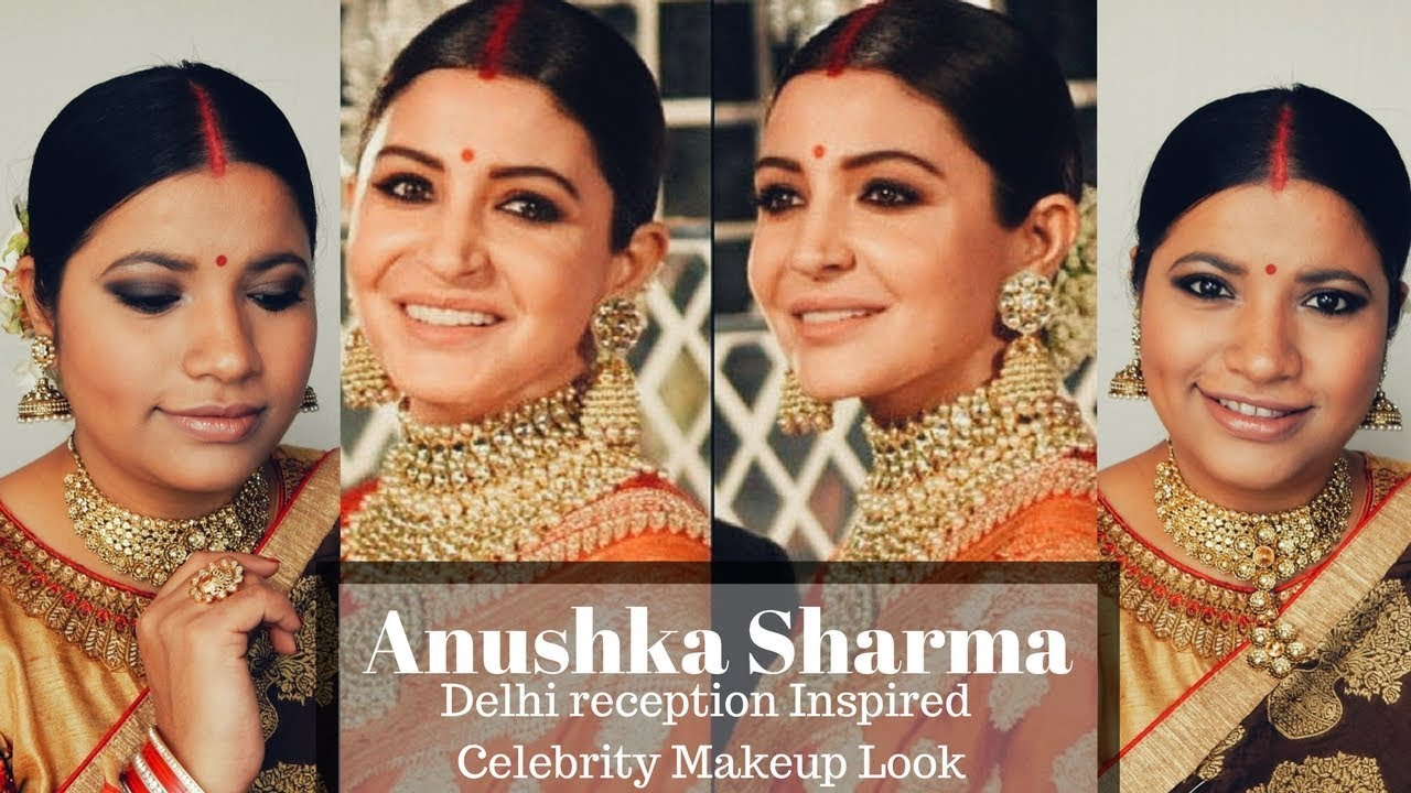 Anushka Sharma Delhi Reception Look Inspired Celebrity Makeup Tutorial Episode 12