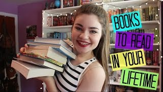 Top 10 Books To Read in Your Lifetime!