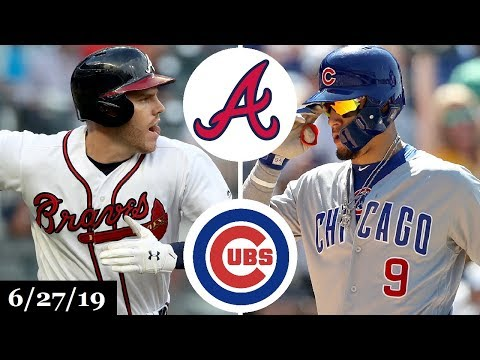 Atlanta Braves vs Chicago Cubs - Full Game Highlights | June 27, 2019 | 2019 MLB Season
