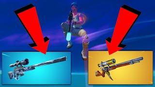 sniper are back in fortnite...