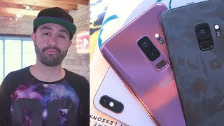 Samsung Galaxy S9 vs Apple iPhone X - Which is better?!