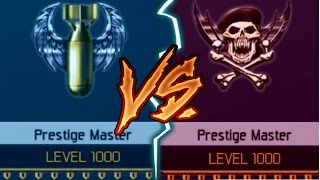 1000 vs 1000 (Black Ops 3 Prestige master level 1000 SHOWDOWN)