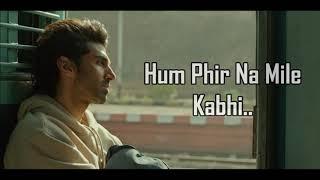 Phir Na Milen Kabhi Lyrics | Malang | Ankit Tiwari | Aditya Roy