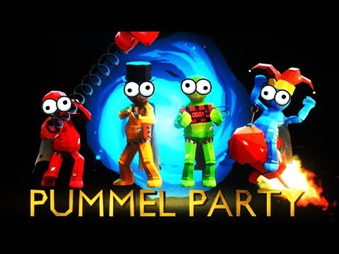 AN EXTRAORDINARY GAME OF PUMMEL PARTY!