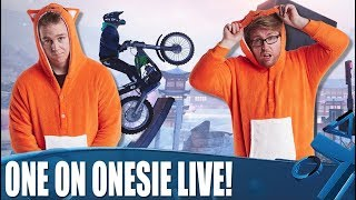 One On Onesie Live! The rivalry continues with Trials Rising!