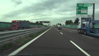 Italy / Italien-Autostrada A4 Richtung Milano / A22 Richtung Bolzano