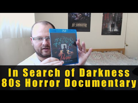 In Search of Darkness '80s Horror Doc Blu-ray Unboxing