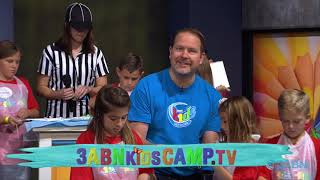 """02 - """"Leaving Your Mark"""" - 3ABN Kids Camp Creation Crafts"""