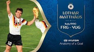 HYUNDAI Anatomy of a Goal - LOTHAR MATTHAUS (FRG) 1990