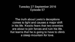 Coming up on Skeem Saam - 26 Sep - 30 Sep (Episode 56 - 60)