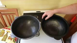 Выбор казана для бытовой плиты.