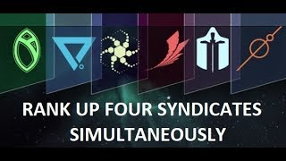 Warframe Beginner's Guide - Rank up FOUR SYNDICATES together